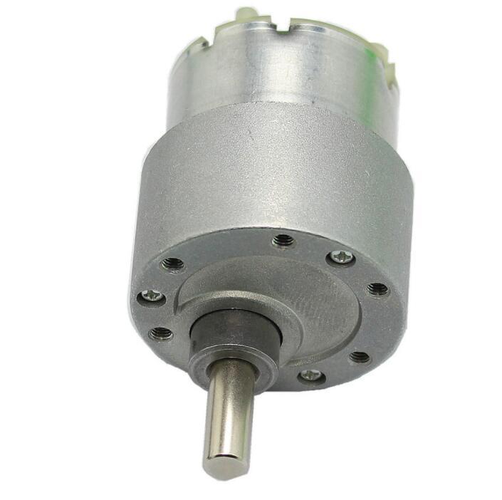 Mô-tơ điện  / Động cơ điện Mô Tơ Điện Mini 60RPM 30 N*Cm 37MM 12V