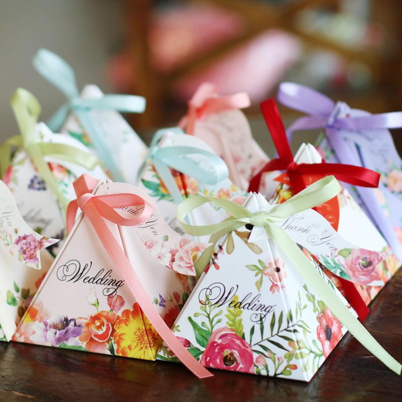WNQC hộp quà tiệc cưới Bán buôn tại chỗ Hộp đựng đám cưới lục địa Hộp carton Cung cấp tiệc cưới sáng