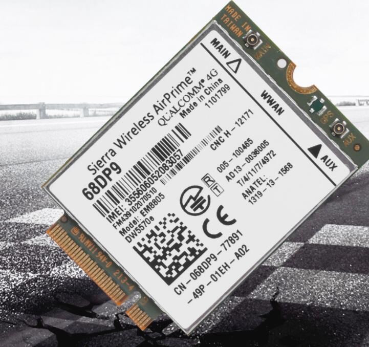 Card mạng 3G/4G Mô Đun Mạng NGFF / M.2 Em8805 3G 4G WWAN Card Dw5570e