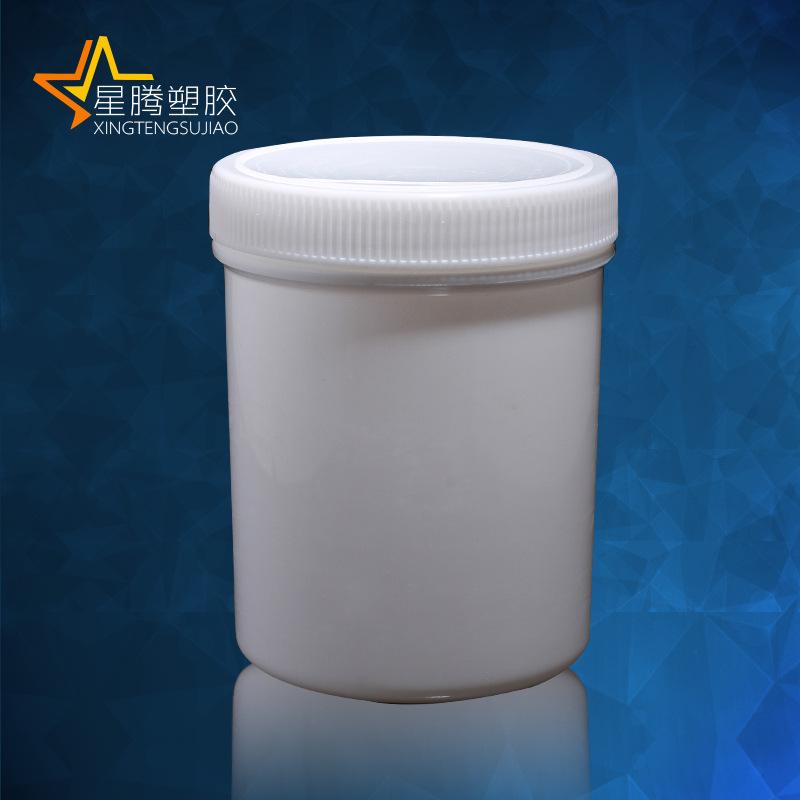 XINGTENG Hũ nhựa Star Teng có nắp trong rộng 500ml nắp chai nhựa mỹ phẩm, hộp nhựa nhựa PP thẳng thù