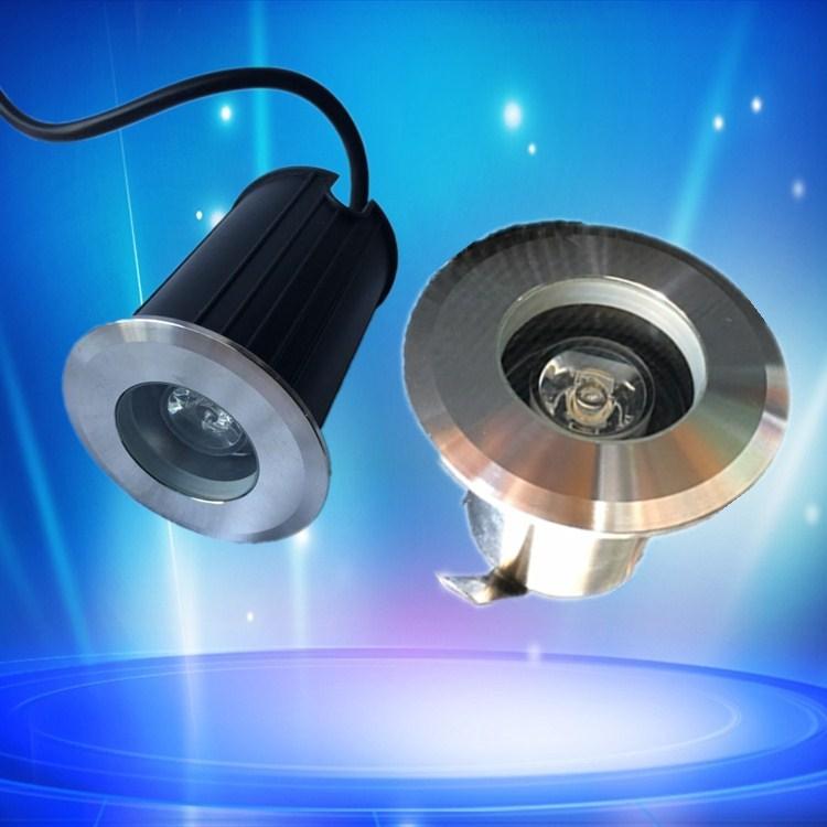 XINFENGLIANG Đèn LED âm nước Phần kỹ thuật điện áp thấp 12 v ngoài trời không thấm nước 1W ánh sáng
