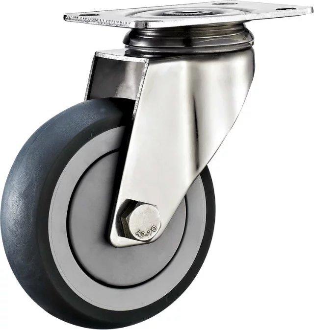 CYL bánh xe đẩy(Bánh xe xoay) Bánh xe thép không gỉ bánh xe thép không gỉ Bánh xe mua sắm bánh xe Xi