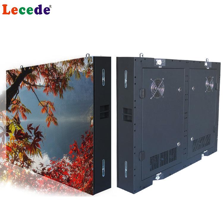 LECAIDE Màn hình LED ngoài trời P10 hiển thị đủ màu