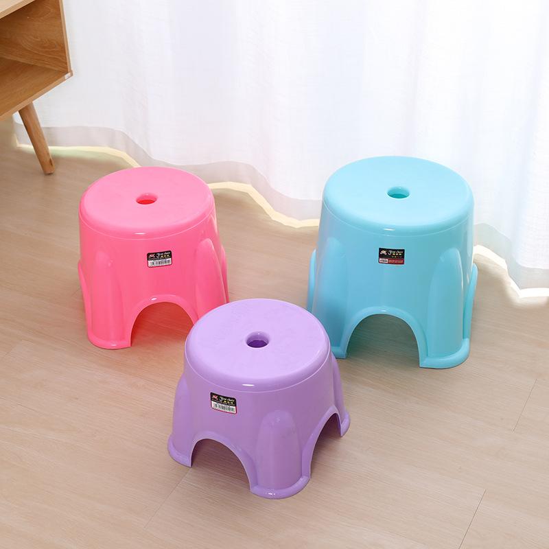 SHENGHAN Đồ dùng gia dụng Nhà máy trực tiếp đơn giản ghế nhà hàng ngày phân nhựa trẻ em sáng tạo hiệ