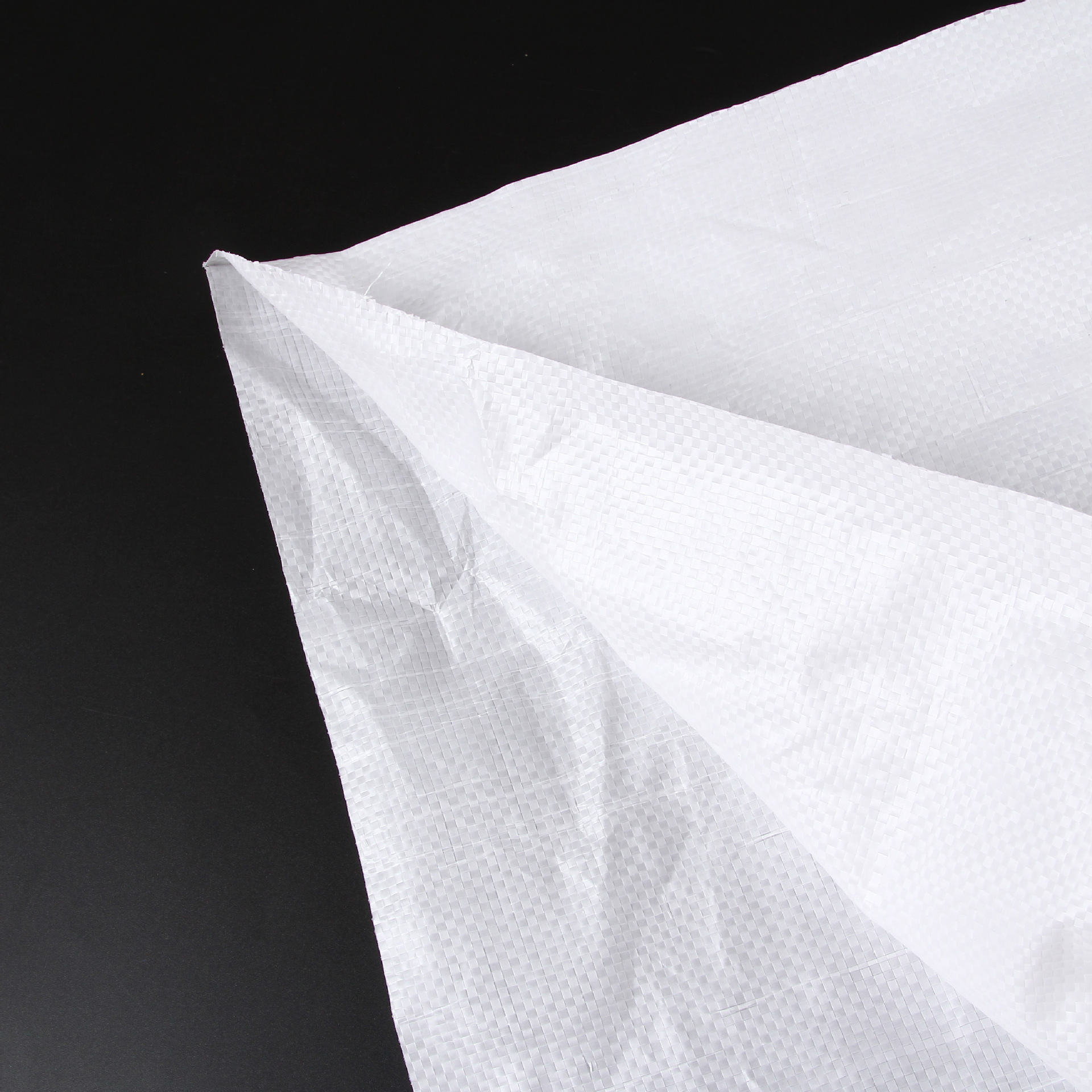 Bao dệt Túi dệt tại chỗ nhựa PP Túi dệt trắng đốm rắn da túi tùy chỉnh in Túi dày dệt túi