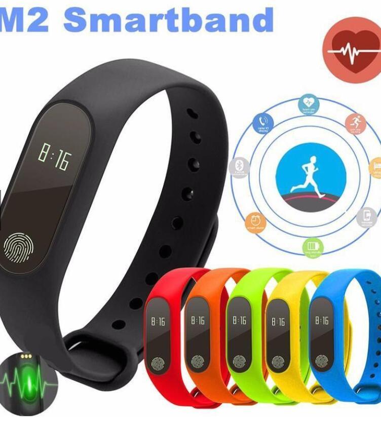 Vòng Đeo Tay Thông Minh Kết Nối Bluetooth M2 Theo Dõi Sức Khỏe