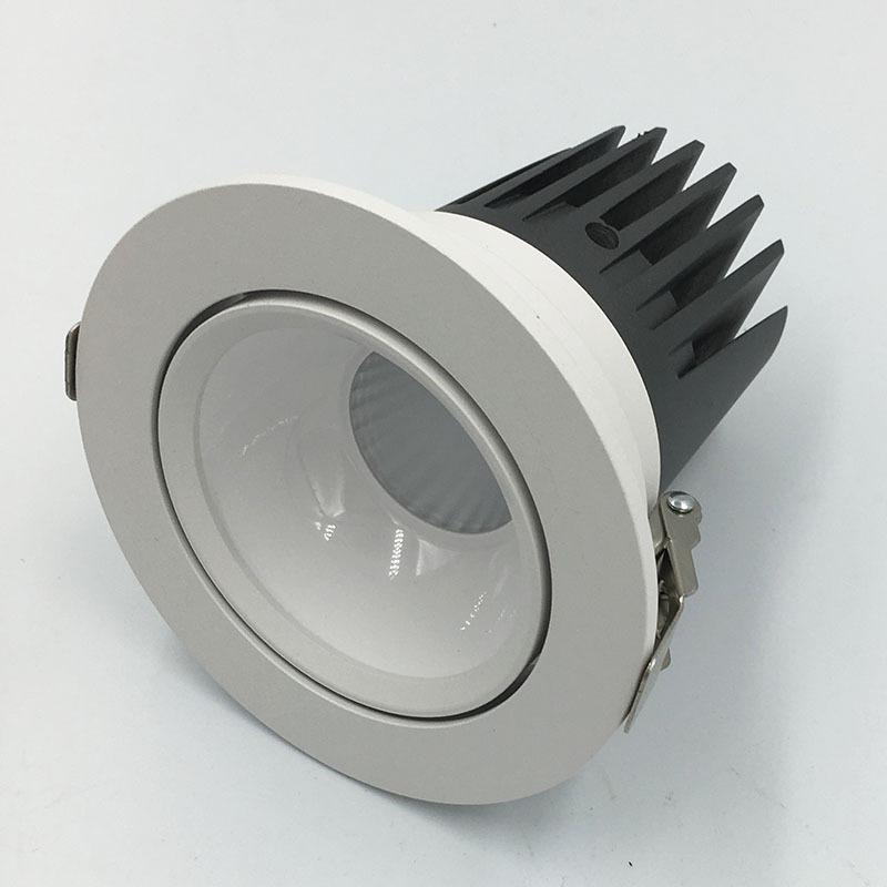 YIHUIDA Đèn âm trần bộ Kỹ thuật khách sạn 3.5cob Đèn trần Kit Kit LED trần Spotlight Kit 20W Đèn chi