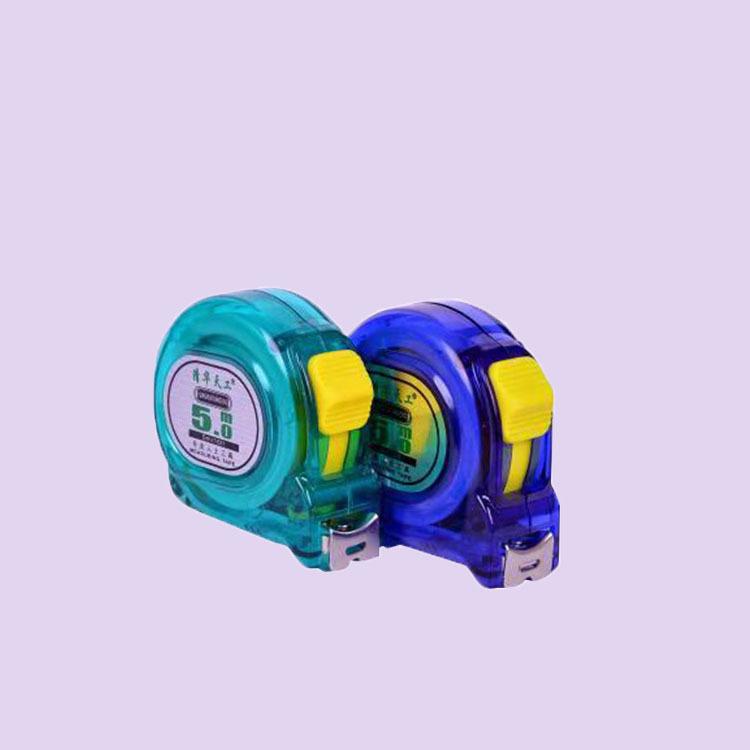 QHTG Dụng cụ đo lường Nhà máy trực tiếp mới đo băng thép 5 m thước đo trong suốt thước thép không gỉ
