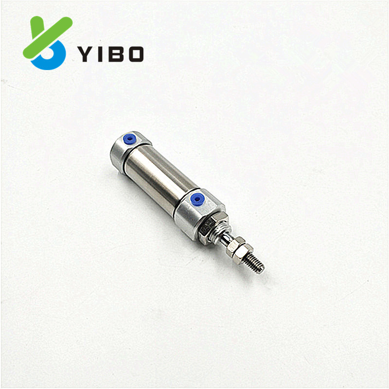 YIBO Ống xilanh Xi lanh nhỏ bằng thép không gỉ loại CJ2B CDJ2B16-10 / 15/20/25 / 30-40-50-75 nhỏ