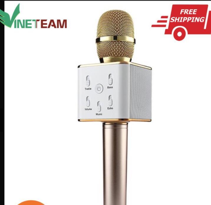 Micro Hát Karaoke Blutooth Q7 2017 Cao Cấp Shoprequalc