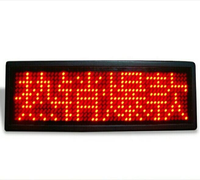 LTM Màn hình LED điện tử hiển thị chữ .