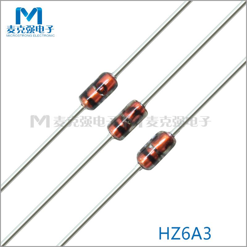 RENESAS Điốt bán dẫn Bộ ổn áp chính hãng Hitachi / Renesas Zener Diode HZ6A3 DO-35 0,5W 5,4V ~ 5,7V