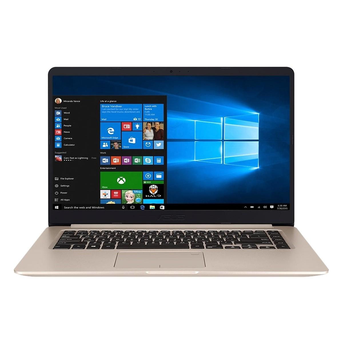 Asus   Máy tính xách tay - Laptop  Laptop Asus Vivobook 15 A510UA-BR873T Core i3-7100U/Win10 (15.6 i