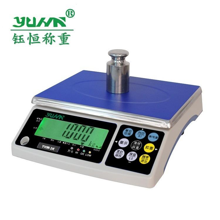 Cân Thanh Đảo YHW15kg1g Đài Loan quy mô 30kgYUHN cho biết dây chuyền sản xuất thiết bị đo quy mô đặc