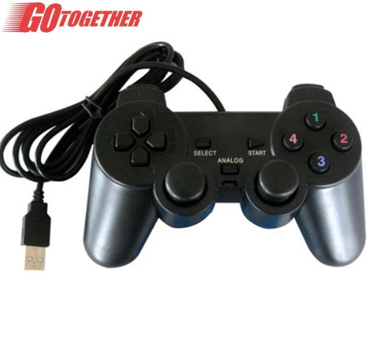 GOTOGETHER Tay cầm chơi game USB. Trò chơi trên máy tính PC máy tính cầm tay cầm Singles cáp. Các nh