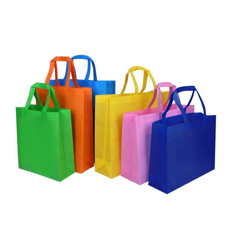 TIANYI Túi vải không dệt Túi xách không dệt tại chỗ siêu thị tùy chỉnh mua sắm túi quần áo túi quà t
