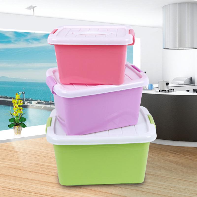 MINGXING Thùng nhựa Quần áo quilt nhựa lưu trữ hộp lưu trữ hộp lưu trữ hộp doanh thu hộp lưu trữ hộp