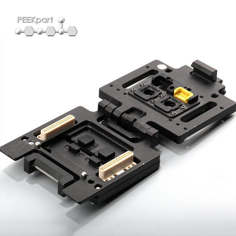 Linh kiện điện tử Nhựa kỹ thuật đặc biệt Các bộ phận kiểm tra điện tử nhìn trộm polyetheretherketone
