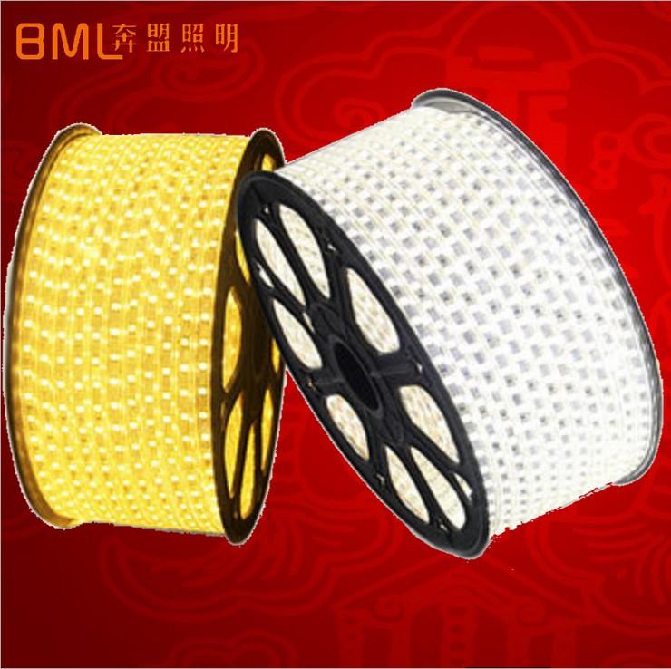 Đèn LED dây LED5050 2835 Ánh sáng mềm dẻo với bao nhiêu tiền một mét thanh ánh sáng cao áp không thấ