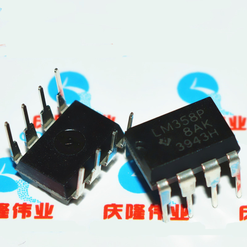 TI IC tích hợp Tích hợp IC LM58P LM58N LM58 DIP8 Bộ khuếch đại hoạt động chip lớn trong nước