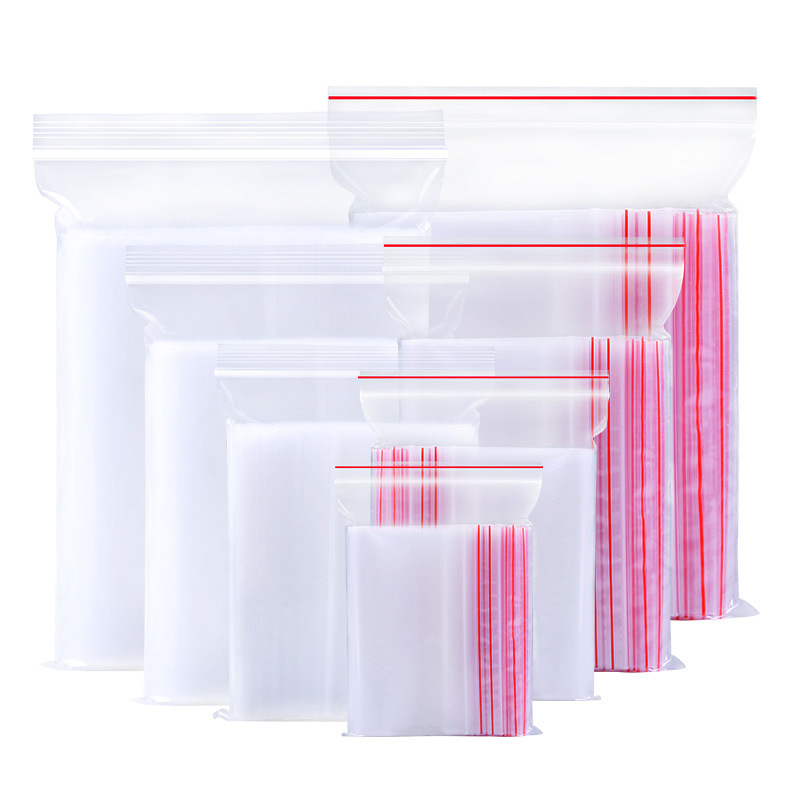 ZHIMEI Mâm nhựa / Pallet nhựa Túi kín nhựa nhỏ PE Ziplock túi lớn trong suốt thực phẩm đóng gói túi