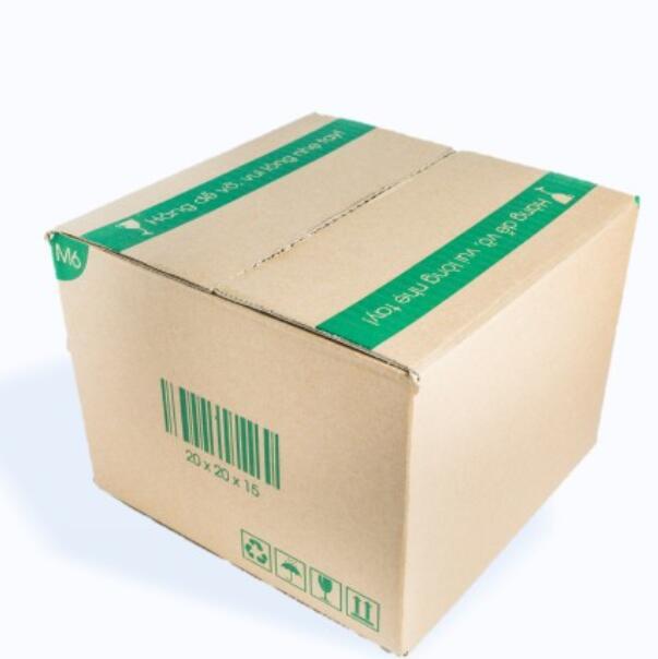 Thùng giấy M6 - 20x20x15 Cm - 20 Thùng Hộp Carton