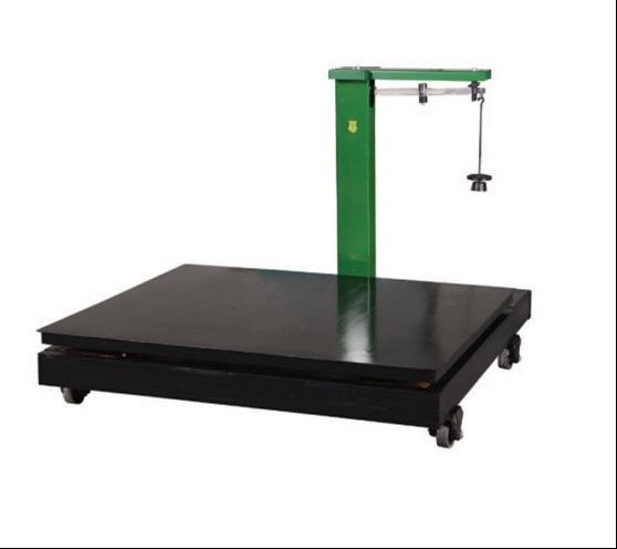 Cân sàn điện tử quy mô trọng lượng 2 tấn .