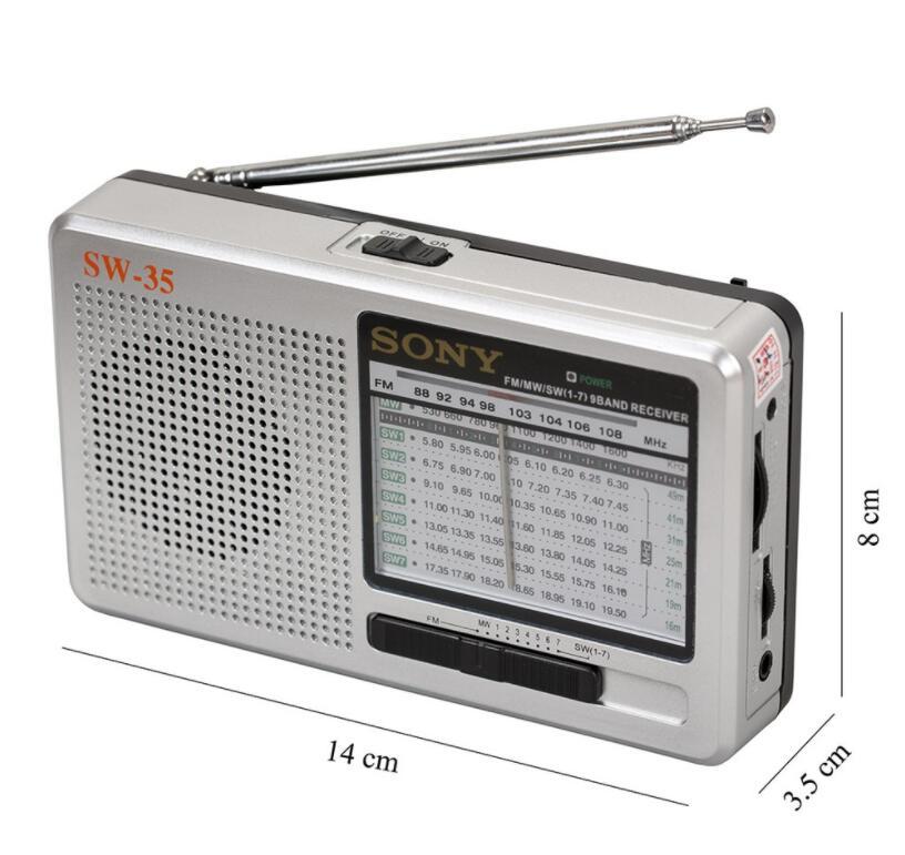 Máy Radio Sony ICF SW-35 Đa Băng Tần