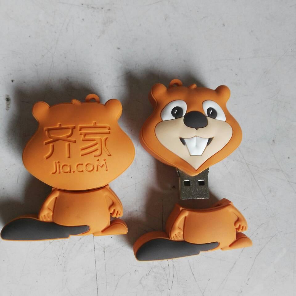 OEM   USB   Tốc độ USB3.0 PVC sóc đĩa u hoạt hình sáng tạo ổ đĩa bán buôn