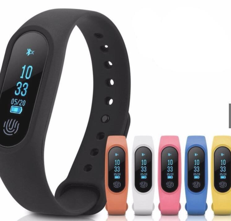 Vòng đeo tay thông minh Vòng Đeo Tay Thông Minh Kết Nối Bluetooth M2 Theo Dõi Sức Khỏe