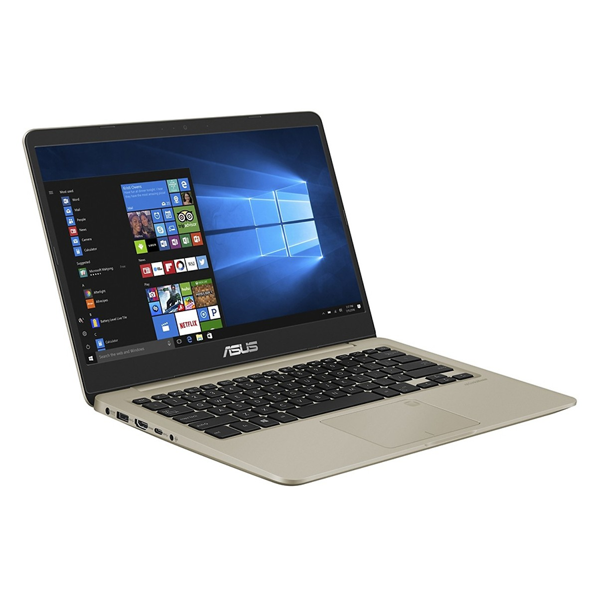 Asus   Máy tính xách tay - Laptop    Laptop Asus Vivobook S14 S410UN-EB279T Core i5-8250U/Win10 (14