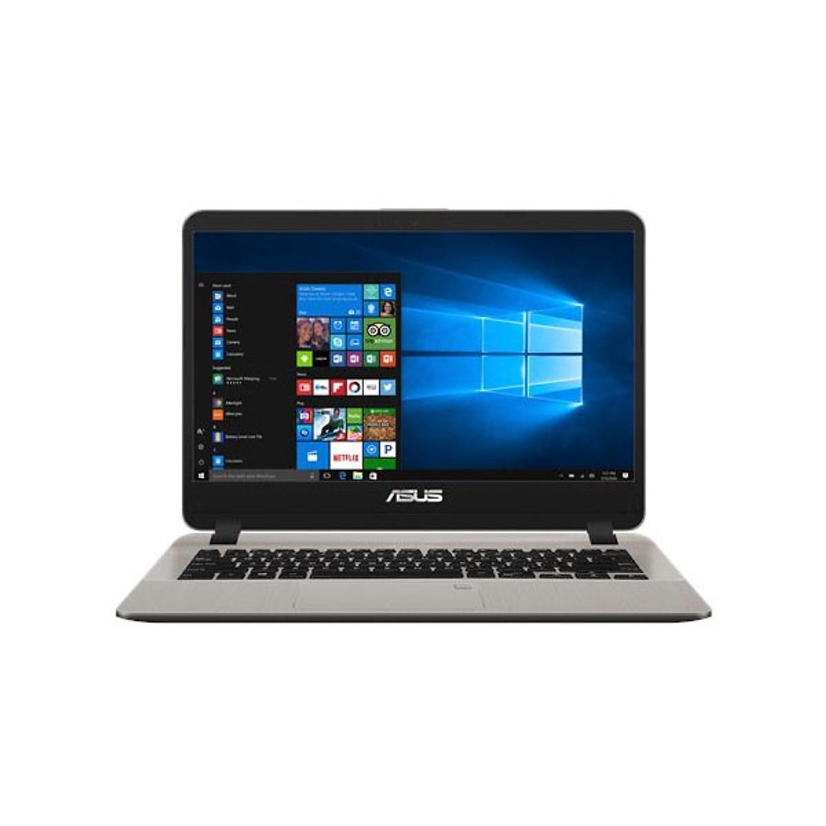 Asus   Máy tính xách tay - Laptop    Laptop ASUS VIVOBOOK X407UA - BV129T . intel Core I3 6006U (14i