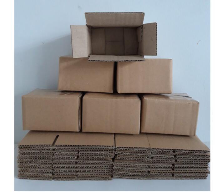 Thùng Giấy Carton 100 Hộp 10x6x6 -Video Gốc
