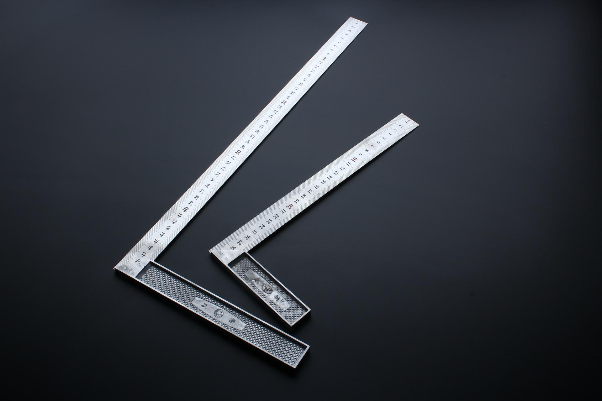 Thước đo Dụng cụ đo lường Thép vuông 300-500MM