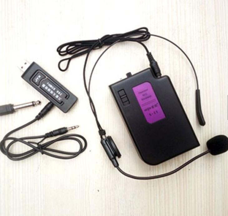 Micro Bộ Micro Không Dây V11 Daile Hỗ Trợ Cho Loa Giảng Dạy - Du Lịch - Phát Thanh Tiếng Ra To Chất