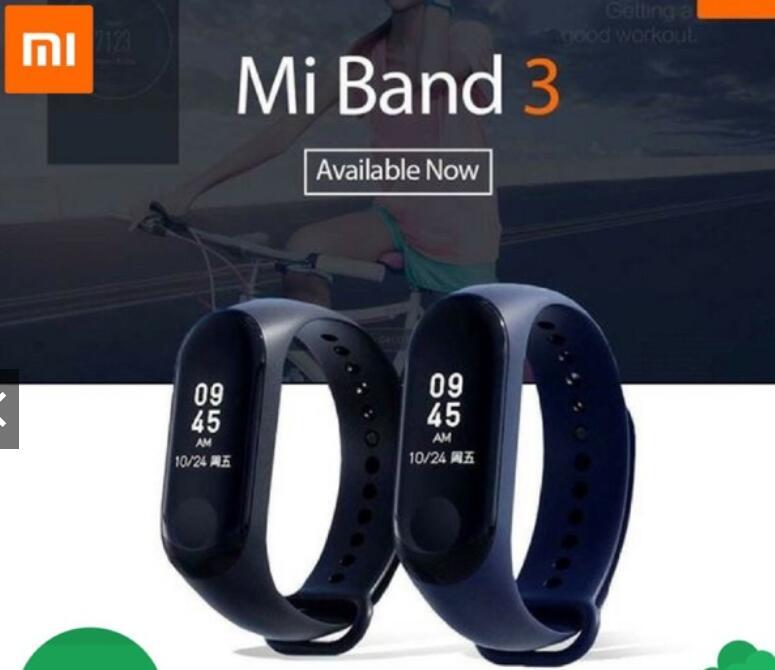 Vòng đeo tay thông minh Mi Band 3 ( Full Tiếng Việt ) - Vòng Đeo Tay Thông Minh Xiaomi
