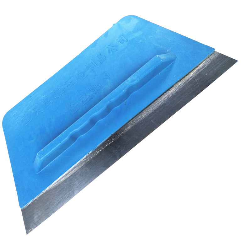 Công cụ nghề mộc Nhà máy trực tiếp 250mm thép không gỉ nhựa cào cào làm sạch dao putty dao tường put