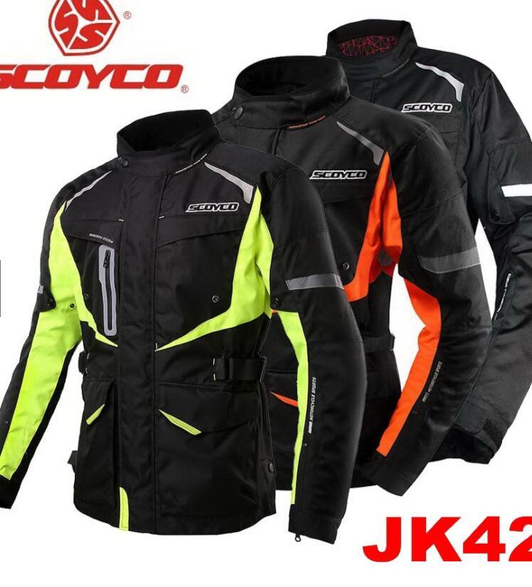 Trang phục bảo hộ Áo Khoác Bảo Hộ Moto Chống Mưa Scoyco - JK42