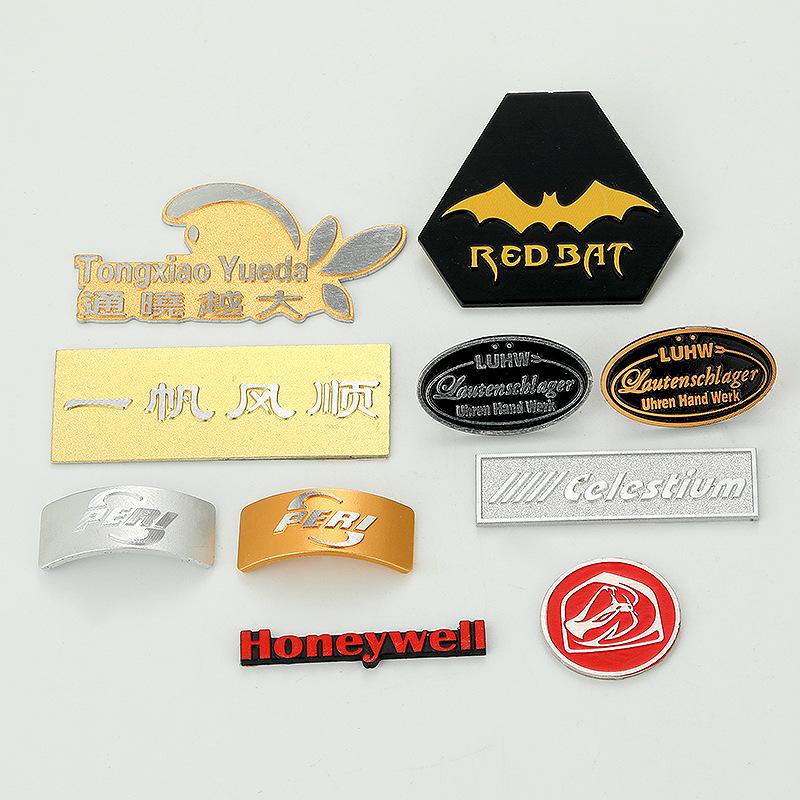 ZHENGHAO Bảng hiệu kim loại Nhà sản xuất bảng tên kim loại tùy chỉnh Gaoguang chải nhôm thương hiệu