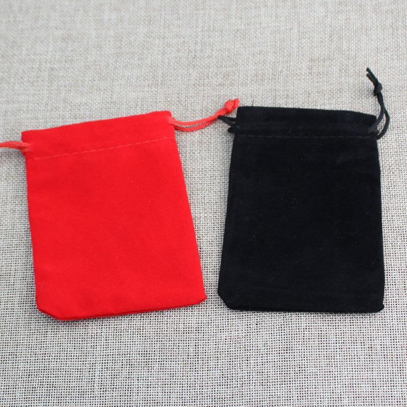 LINGGUSI Túi đựng trang sức Túi nhung quan tài túi thổ cẩm túi đồ trang sức hạt hạt túi trang sức lư