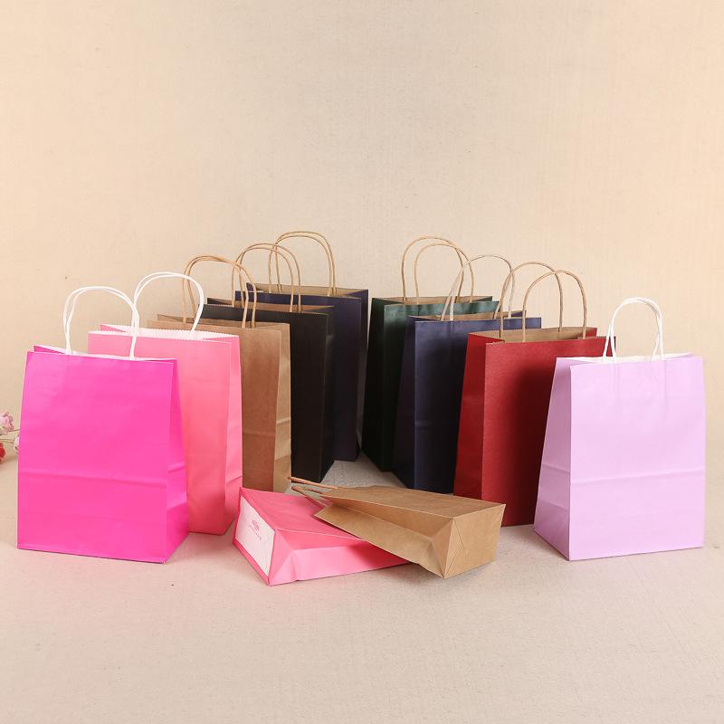 HIAMU Túi giấy Nhà sản xuất túi giấy chuyên nghiệp quần áo tùy chỉnh túi xách tay giấy kraft quà tặn