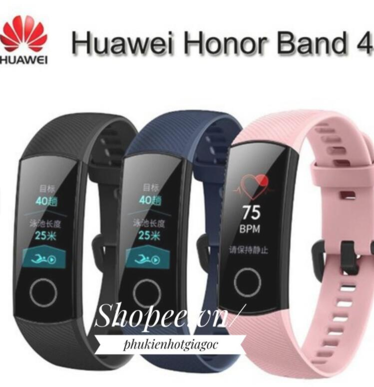 Vòng đeo tay thông minh  Vòng Đeo Tay Honor Band 4 Bản Tiêu Chuẩn