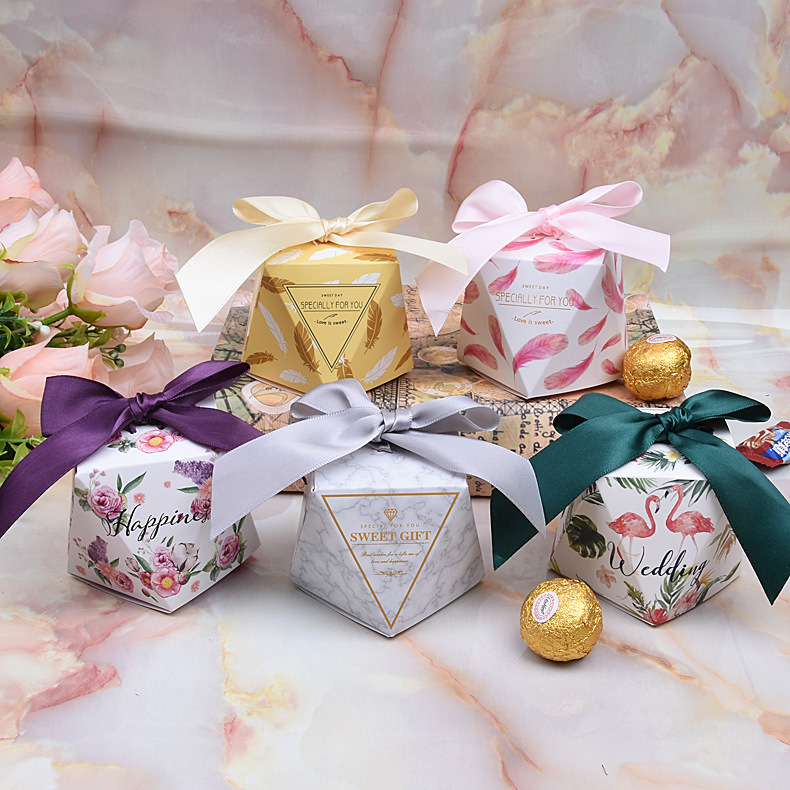 JINQUE New Diamond Diamond Candy Box Wedding Sugar Box Forest Forest Creative Creative Bag Nhà sản x
