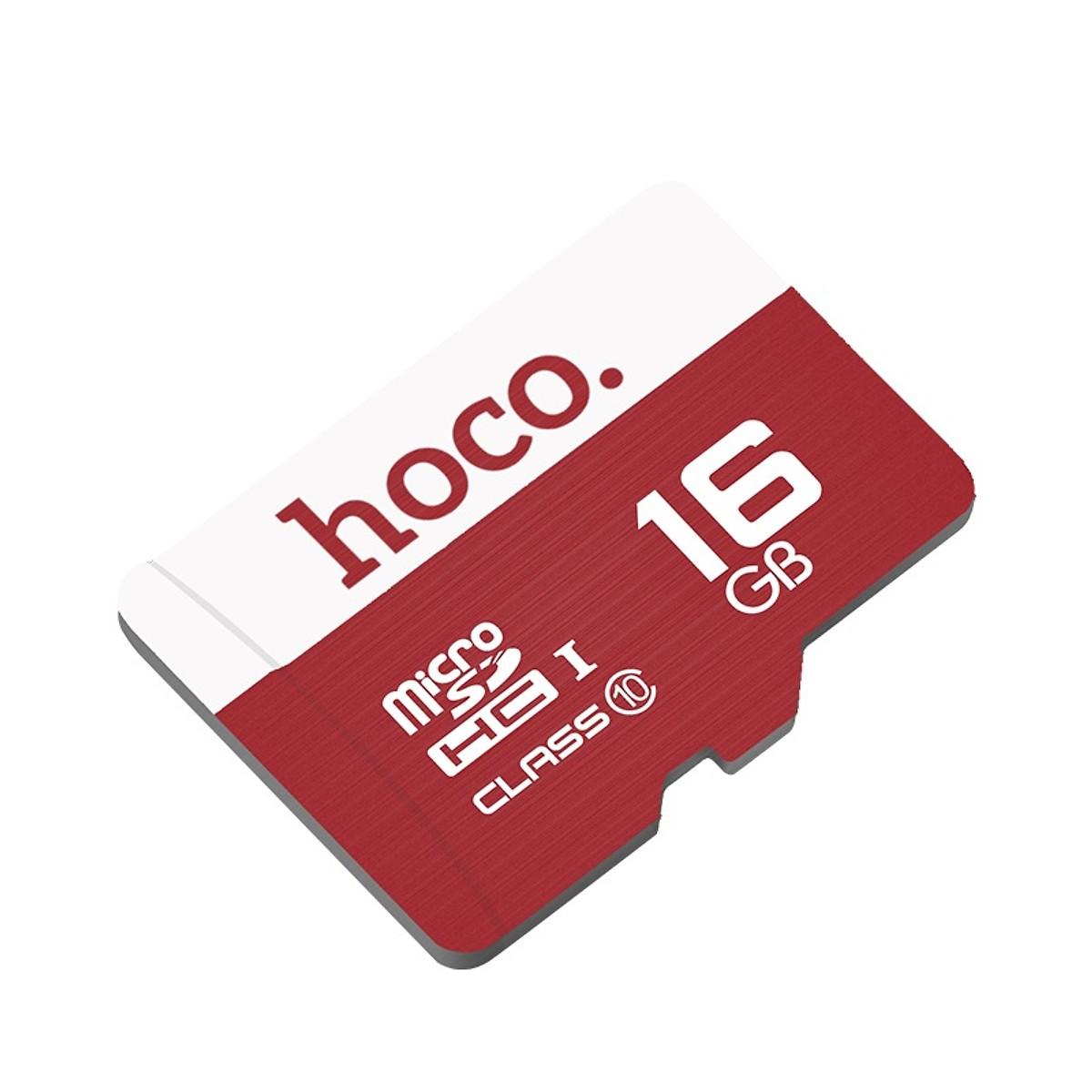 Hoco - Thẻ Nhớ 16GB Class10 Tốc Độ Cao MicroSD Chính Hãng