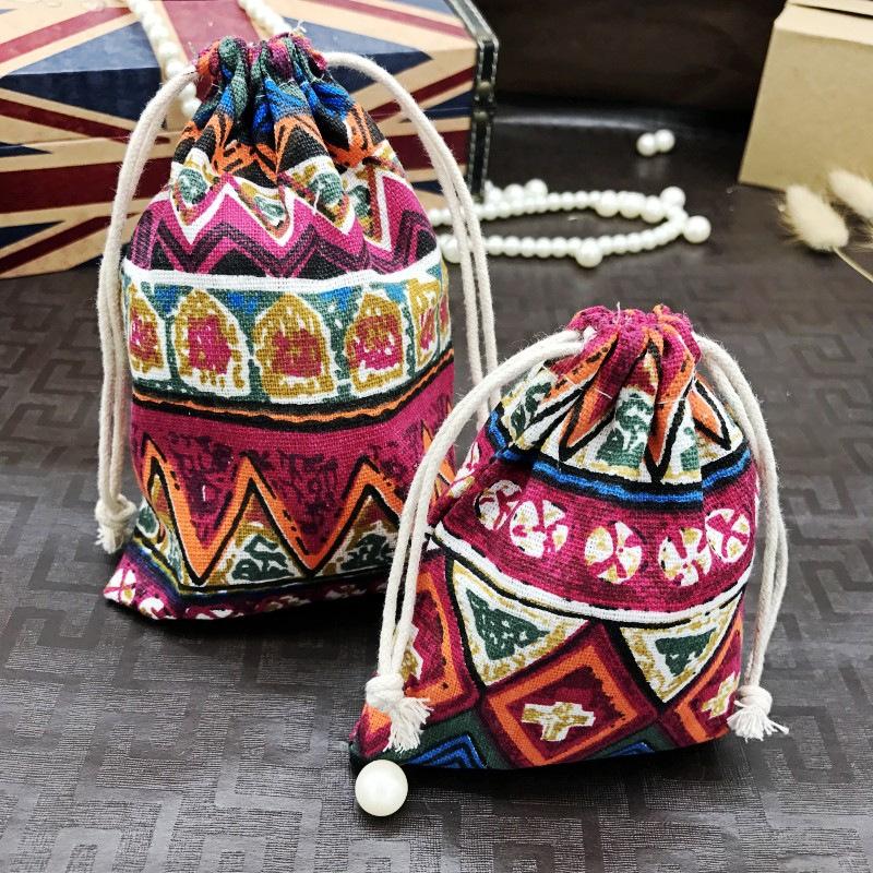 ZHIKU Túi đựng trang sức Cà vạt Trang sức Túi Trang sức Túi nhung Túi Bông tai Stud Vòng cổ Vòng cổ