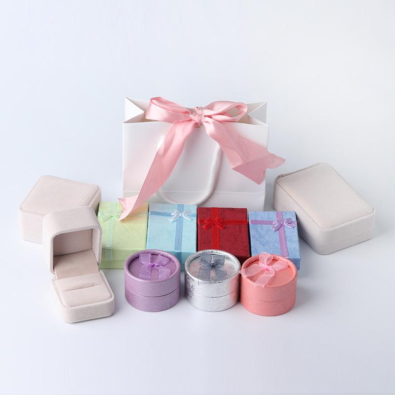 XIFAN Hộp trang sức Nhà máy trực tiếp hộp đồ trang sức hộp bao bì hộp đồ trang sức hộp cửa hàng hộp