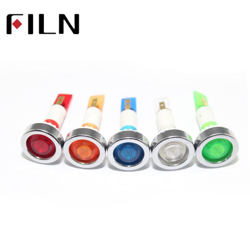 FINL Đèn tín hiệu filn10380v tròn đỏ và xanh lục
