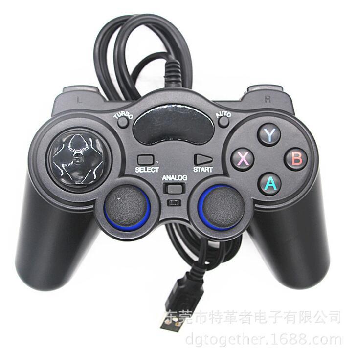 GOTOGETHER Tay cầm chơi game PS3 điện thoại thông minh máy tính Android TV thông minh cầm. Cáp USB A