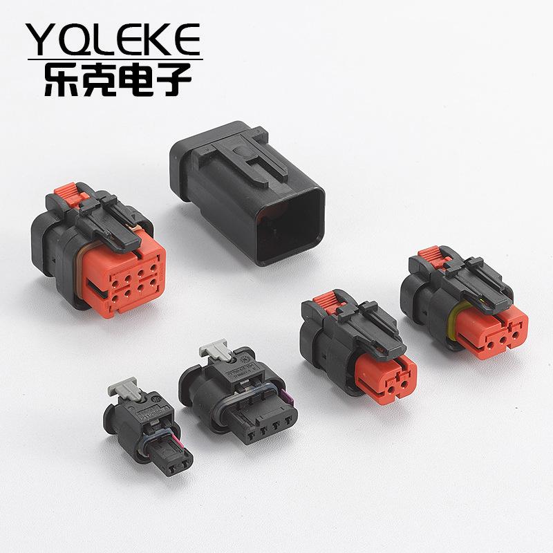 LEKE Giắc nối chống thấm hàng loạt 2 lỗ 3 lỗ 4 lỗ 8 lỗ nối xe chống nước