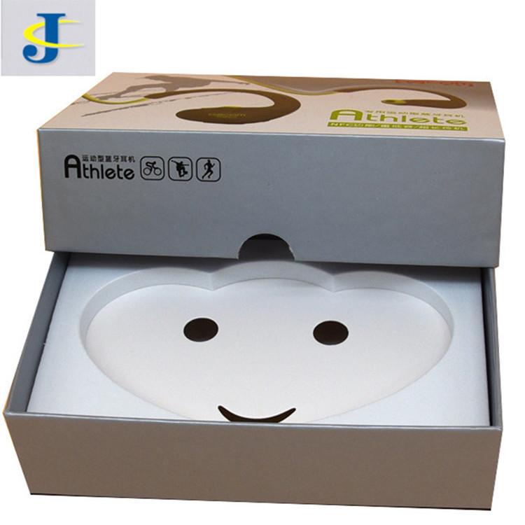 JINGCHENG hộp giấy âm dương Nhà máy Thâm Quyến thùng carton tùy chỉnh hộp tai nghe Bluetooth hộp thế